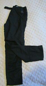 Women's Black Craghoppers Trousers Size 14 Aquadry waterproof system Walking etc