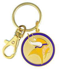 Minnesota Vikings NFL Logo Metal Key Chain