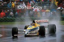 THIERRY BOUTSEN Williams FW12C WINNER CANADIAN GRAND PRIX 1989 fotografia 1