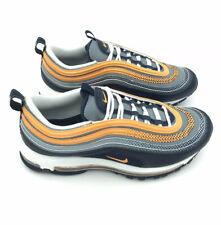 NIKE MENS Shoes Air Max 97 SE Size US 8 | Midnight Navy Laser Orange