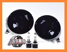 For Nissan 05-07 Armada 04-14 Titan Fog Lights Front Lamps Smoke Lens PAIR