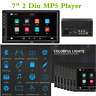 "Universal Bluetooth Car Radio Stereo MP5 Multimedia Player 7"" 2 Din HD Head Unit"