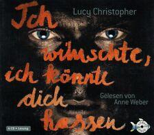 ICH WÜNSCHTE, ICH KÖNNTE DICH HASSEN; 4 CDs von LUCY CHRISTOPHER