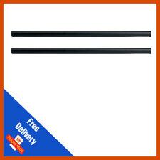 2 X QTX Altavoz 35 mm 120 Cm Negro Acero poste poste para los gabinetes de Altavoz de montaje