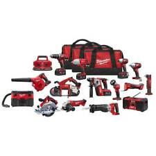 Milwaukee 2695-15R M18 Lithium-Ion Cordless 15 Piece Combo Tool Kit