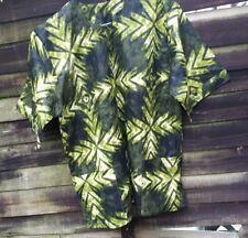 Men's Shirt African Print Ankara tailor made Medium