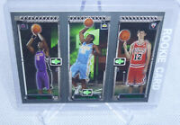 2003-04 Topps Matrix Chris Bosh, Carmelo Anthony, Kirk Hinrich Rookie Card