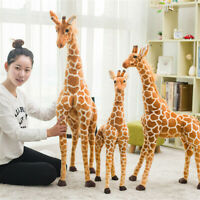 Plush Giraffe Toy Doll Big Giant Large Stuffed Animal Soft Doll Kid Gift