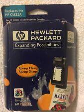 HP 23 Tri-Color Ink Cartridge C1823D Genuine Hewlett Packard New