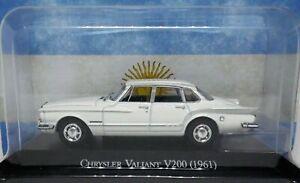 CHRYSLER VALIANT  1961 Diecast 1:43 Autos inolvidables Argentina