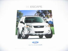 2005 Ford Escape Dealership Sales Brochure Canada USED