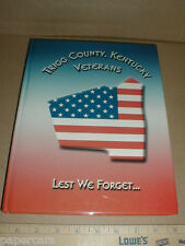Trigg County KY Kentucky Veteran Biography History bio all Wars WWI WWII Vietnam