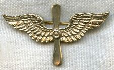 Large WWII Sterling US Air Corps Sweetheart Pin