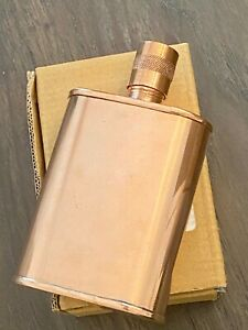 JACOB BROMWELL Vermonter Flask 9oz. - Pure Copper - Made in USA