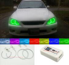 Wifi RGB For LEXUS IS200 IS300 1998-2005 Angel Eyes Halo Rings DemonDevilDRL