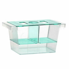 Fish Breeder Isolation Box Saver Aquarium Spawn Hatchery Double Two Way
