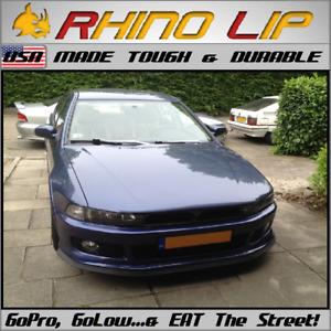 Mitsubishi Galant Universal Flexible USA Made Tough * Rubber Chin Lip Splitter *
