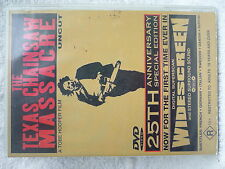 THE TEXAS CHAINSAW MASSACRE(UNCUT)DIRCTED BY TOBE HOOPER  DVD R R4