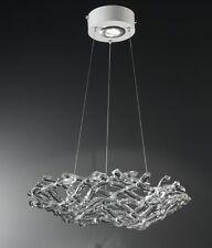 Lampadario contemporaneo in vetro di cristallo coll. BELL matrix 1370/S1L