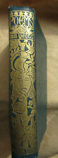 Poems by W. B. Yeats (T. Fisher Unwin, 1919) reprint with spine only gilt