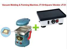 Dental Vacuum Molding&Forming Machine JT-18+Square Vibrator Vibrating JT-51 220V