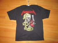 9V/METALLICA T SHIRT/HOT TOPIC/NWT/SHIRT SLEEVE/2XL/HEART EXPLOSIVE!