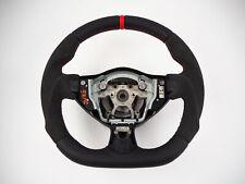 NISSAN 370z Z34 JUKE Flat Bottom part alcantara INCLUDE steering wheel
