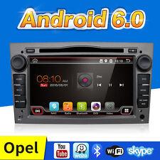 Android 6.0 Autoradio GPS SAT NAV DVD 2 DIN FÜR OPEL CORSA ASTRA VECTRA ZAFIRA