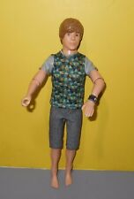 Justin Bieber Barbie Ken Size Doll with Clothes and Watch, Sings