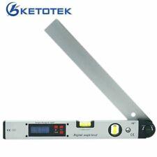Medidor de nivel de ángulo Electrónico Digital Transportador 400mm 16in herramienta de 0 a 225 grados