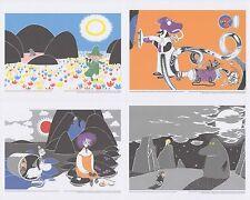 Moomin Set di 4 Poster 24 x 30 cm da Calendario Set di 3 Putinki