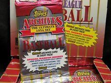 1994 TOPPS ARCHIVES Baseball Hobby PACK, 1954 Set Design