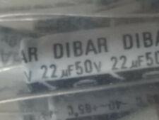 50 Volt 22 Uf Axial Electrolytic Capacitor 50 20 Tol Qty200 Pcs In Bag