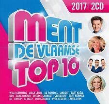 Ment De Vlaamse Top 10 Editie 2017 (2 CD)