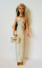 Ideal TUESDAY TAYLOR Clothes Gold GOWN, PURSE & JEWELRY HM Fashion NO DOLL d4e