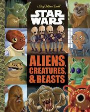 Star Wars™ LITTLE GOLDEN BOOK Aliens & Creatures TREASURY EDITION Series Set