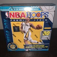 🔥 2019-2020 Panini NBA Hoops Premium Stock Mega Box Brand New Sealed 🔥 Zion Ja