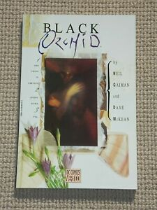 """""""BLACK ORCHID"""" von Neil Gaiman, Dave McKean - US Pb Ausgabe Vertigo - ANSEHEN"""