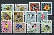 Australien 362/73 postfrisch / Freimarken - Vögel + Fische ................1/735
