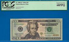 *FR-2089-E* 2004 $20 FRN (( STAR )) PCGS Superb-Gem 68PPQ # EE05410862*