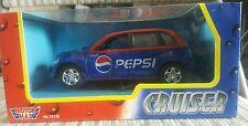 Motor Max 1:24 scale Pepsi Cola Chrysler PT Cruiser die cast NEW! (Red/Blue)