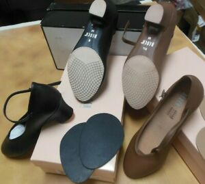 """Character Shoes Ladies 1 1/2"""" Bloch Broadway Lo S0379L Black or Cocoa"""
