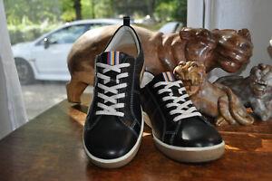 New ECCO Sporty Black Leather Comfort Sneakers No Box 39 Women 8 - 8.5 M