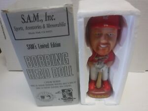 Mark McGwire Cardinals SAM Limited Edition Bobblehead Doll 103017jh