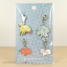 Pokemon Center Metal Charm # 037 A037 038 A038 Ninetales Vulpix Alola Key Chain
