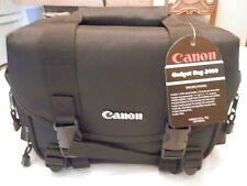 Canon 2400 SLR Digital SLR Camera Gadget Bag Padded with Shoulder Strap