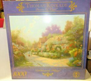 PuzzleThomas Kinkade Cobblestone Village
