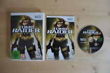 Wii-Tomb Raider: Underworld - (scatola originale, con istruzioni)