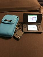 Nintendo DS Lite Handheld Console [Colbat/Black] ✅Charger ✅Travel Bag ✅Tested