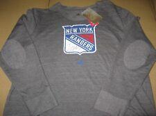 New York Rangers Adidas NHL Women's Open Season Too Comfy Crew Size Small BNWT